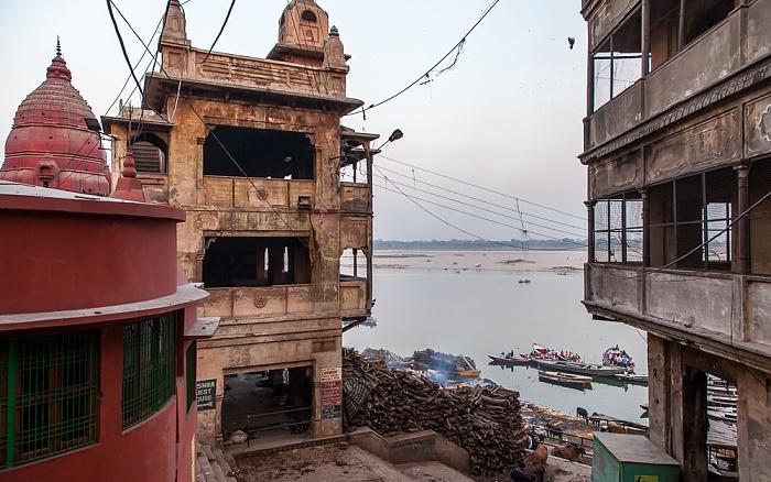 Varanasi Ghats: Manikarnika Ghat Ganges