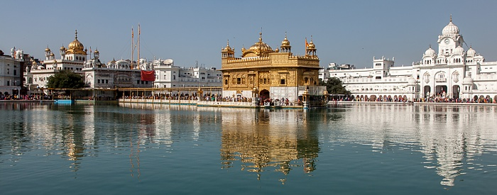 Amritsar Golden Temple Complex: Amrit Sarovar (Wasserbecken)