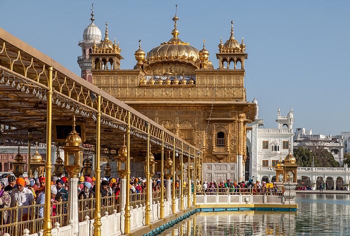 Amritsar Golden Temple Complex: Harmandir Sahib (Goldener Tempel)