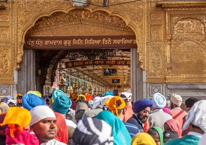 Amritsar Golden Temple Complex: Darshani Deorhi