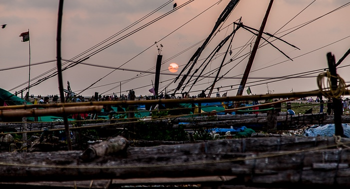 Fort Kochi: Chinesische Fischernetze