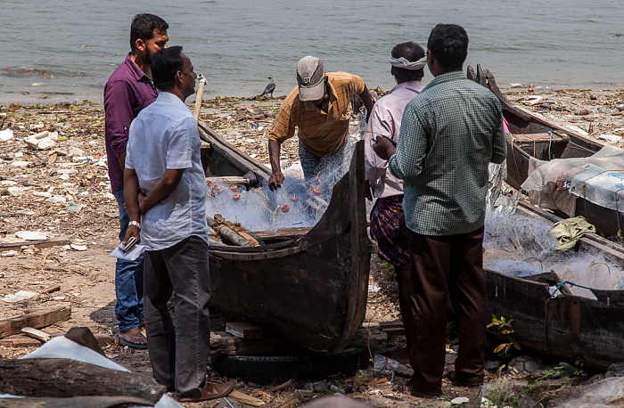 Fort Kochi: Fischerboote