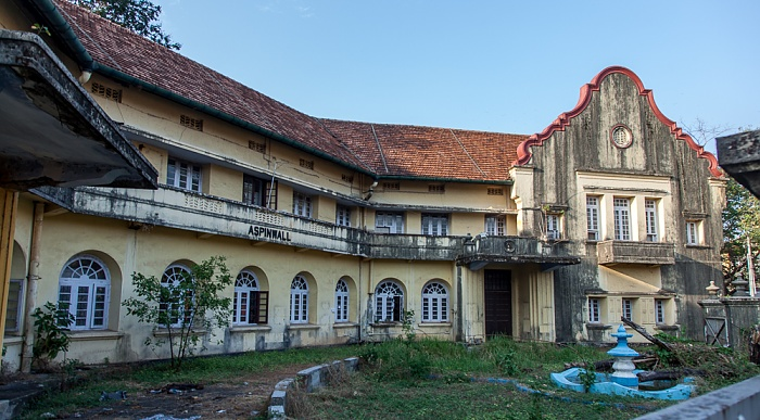 Fort Kochi: Calvathy Road - Aspinwall House