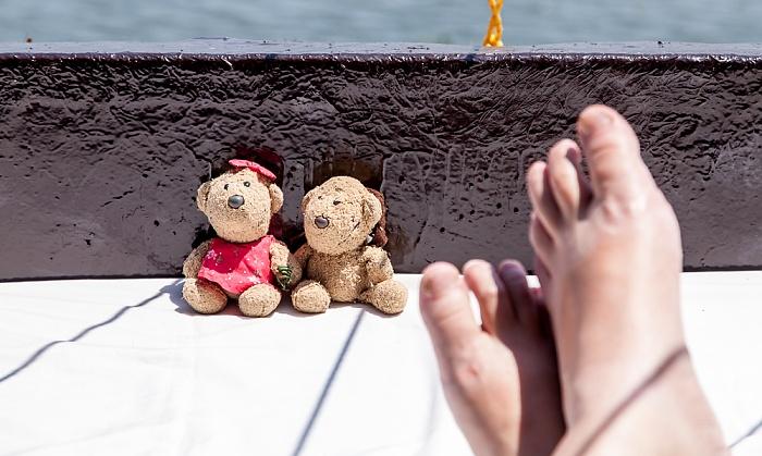 Backwaters Hausboot Sun Birds: Teddine und Teddy