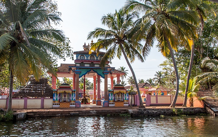 Backwaters Pamba River, Kottaram Bhagavathy Temple
