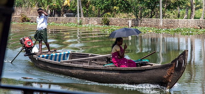 Backwaters Kollam-Kottapuram Waterway