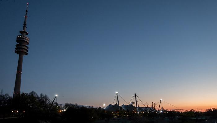 Olympiapark: Olympiaturm, Olympiahalle, Olympiastadion München