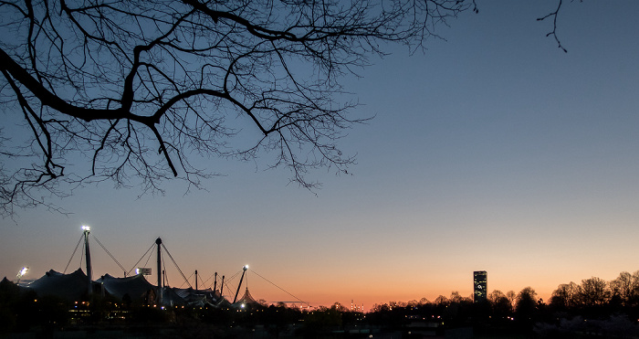München Olympiapark: Olympiahalle, Olympiastadion Uptown-Hochhaus