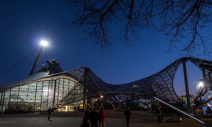 München Olympiapark: Olympiaschwimmhalle