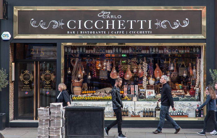 London St James's: Picadilly - San Carlo Cicchetti