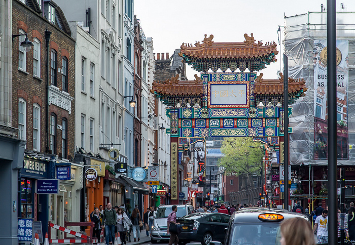 London Soho: Chinatown - Wardour Street