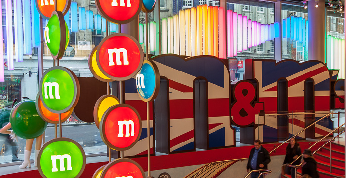 London Leicester Square (Swiss Court): M&M's World
