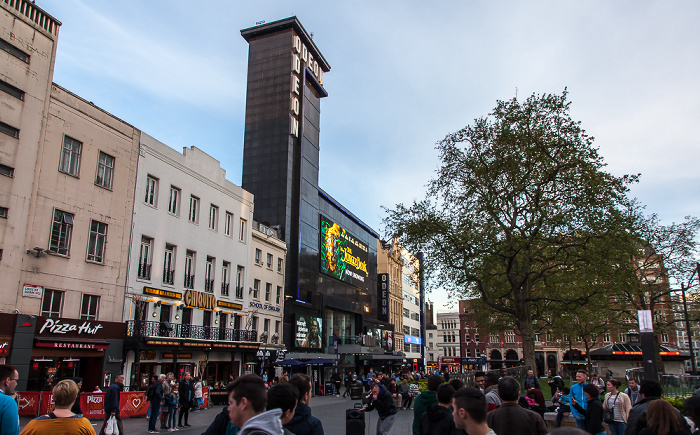 Soho: Leicester Square - Odeon Leicester Square London 2016