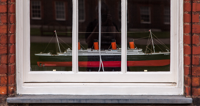 London Royal Hospital Chelsea: Modell der RMS Titanic
