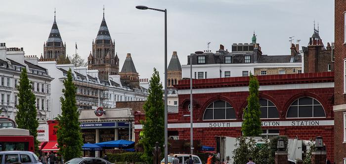 Kensington: Old Brompton Road - South Kensington Tube Station London