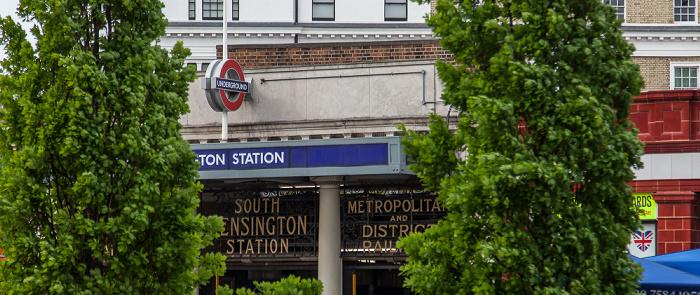 London Kensington: Old Brompton Road - South Kensington Tube Station