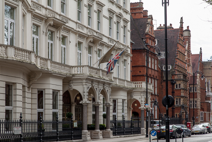 London Kensington: Harrington Gardens - The Bentley Hotel