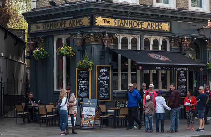 Kensington: Gloucester Road - The Stanhope Arms London