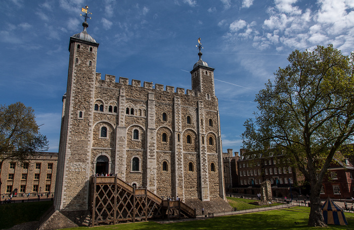 Tower of London: WhiteTower, Innermost Ward London 2016