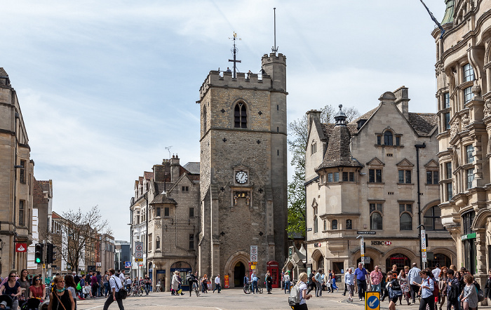 Oxford High Street, Carfax Tower