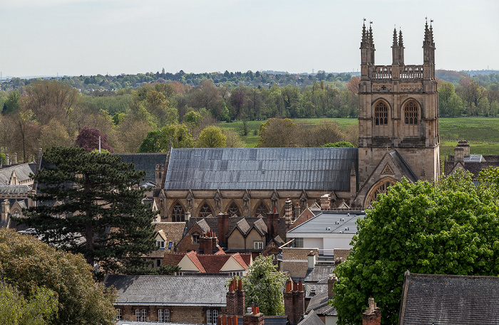 Oxford Blick vom Tower der University Church of St Mary the Virgin