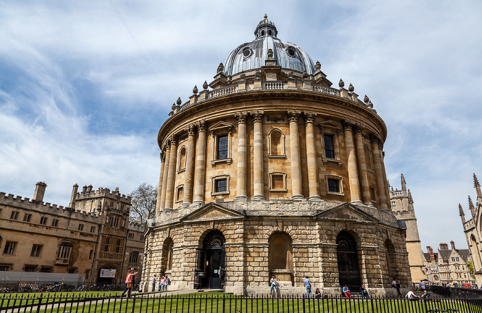 Oxford Radcliffe Square: Radcliffe Camera Brasenose College