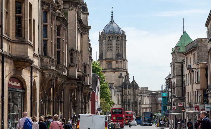Oxford St Aldate's Christ Church College Tom Tower