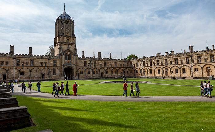 Oxford Christ Church College Tom Tower