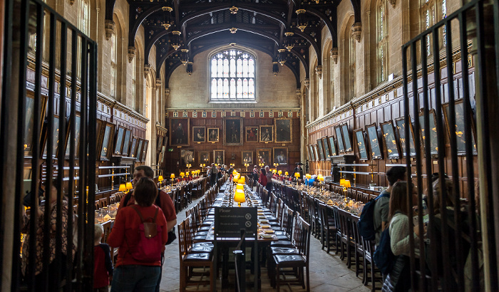 Oxford Christ Church College: The Hall