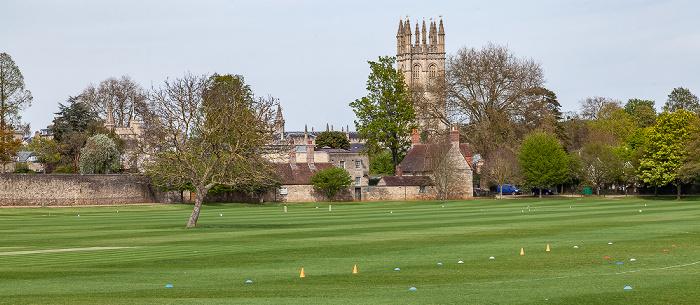 Oxford Merton Field Magdalen College Magdalen Tower