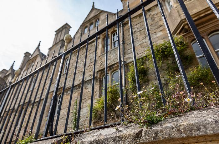 Oxford Merton College Oxford City Wall