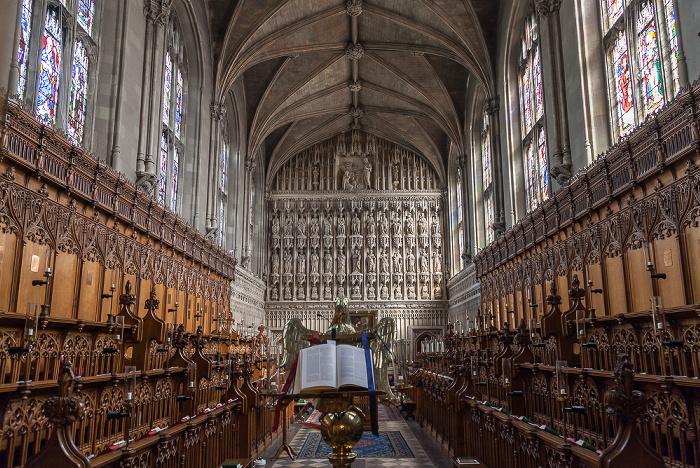 Oxford Magdalen College: Magdalen Chapel