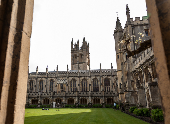Oxford Magdalen College Magdalen Tower