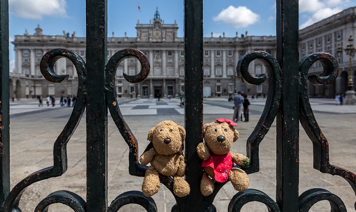 Plaza de la Armería: Teddy und Teddine Madrid 2016
