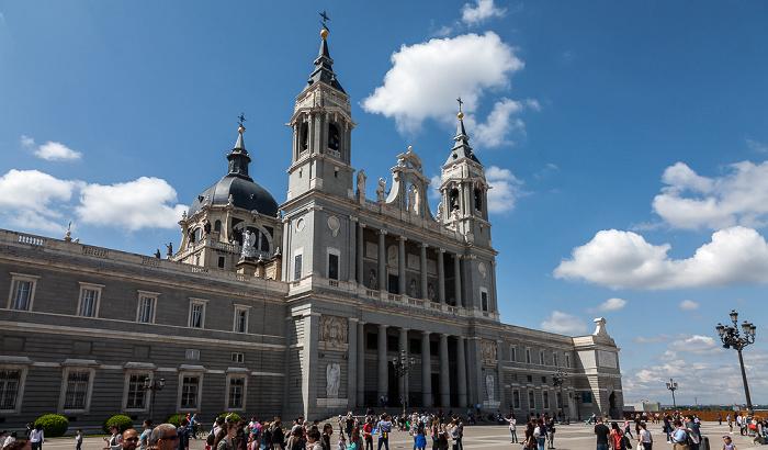 Catedral de Santa María la Real de la Almudena Madrid 2016