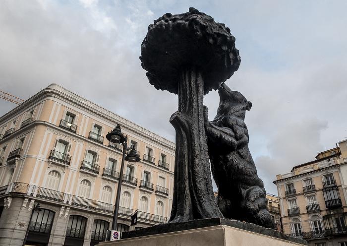 Madrid Puerta del Sol: Estatua del Oso y el Madroño