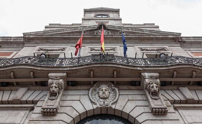 Madrid Puerta del Sol: Real Casa de Correos
