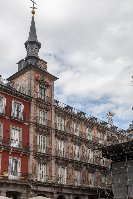 Madrid Plaza Mayor: Casa de la Panadería
