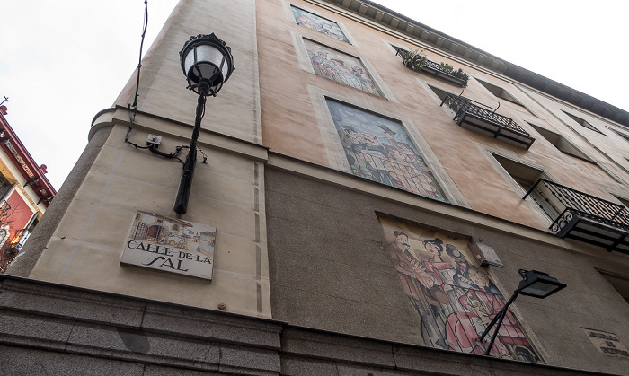 Madrid Calle de la Sal