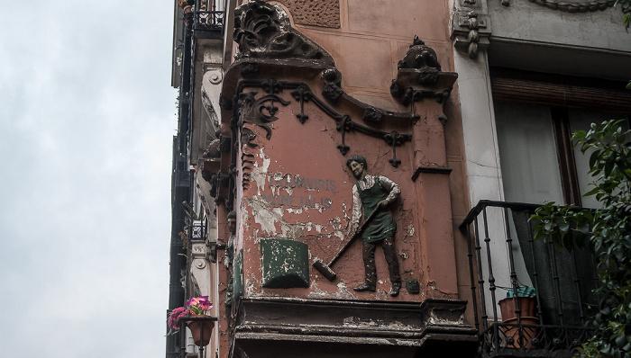 Madrid Calle Coloreros