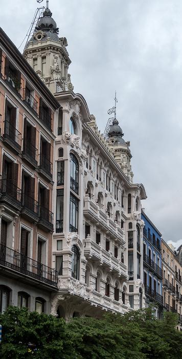Madrid Calle Mayor: Edificio de la Compañía Colonial (Edificio Conrado Martín)