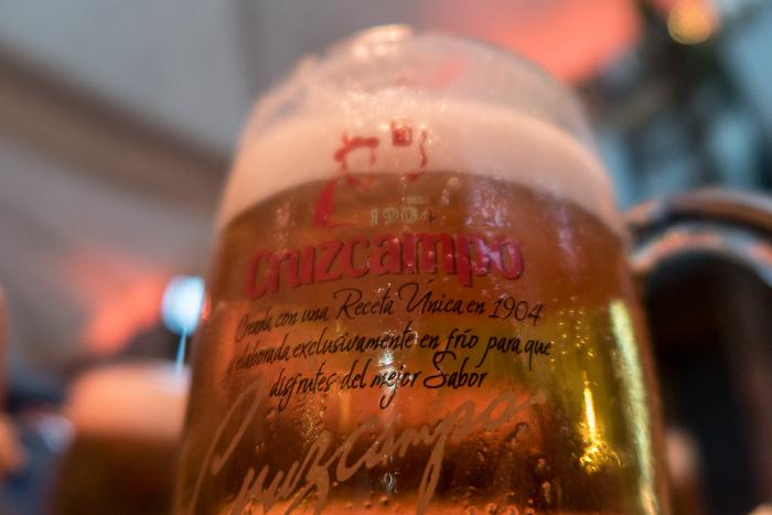 Madrid Postas Quince: Bier
