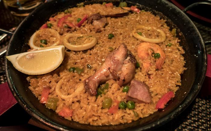 Madrid Postas Quince: Paella