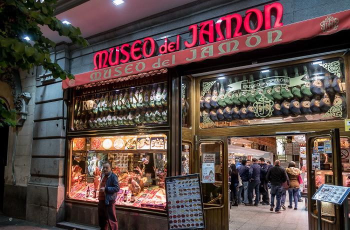 Madrid Calle Mayor: Museo del Jamón
