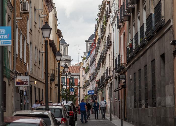 Madrid Calle de la Cava Alta Colegiata de San Isidro