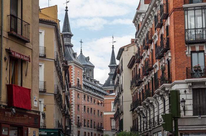 Madrid Calle Concepción Jerónima Palacio de Santa Cruz