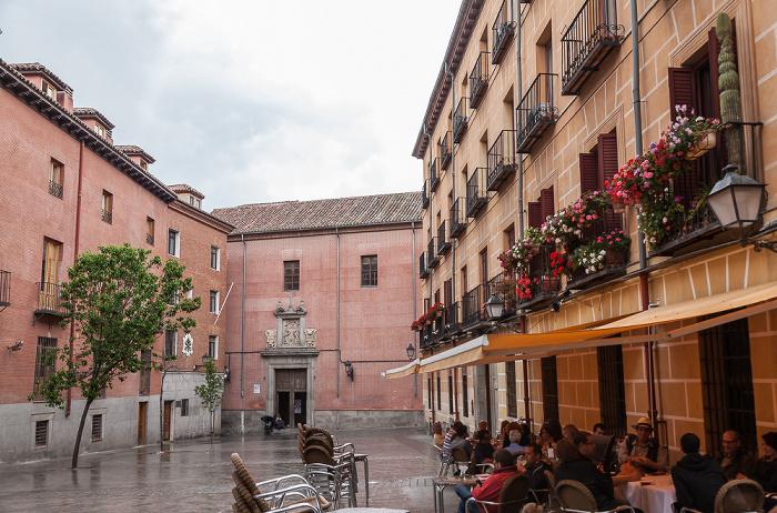 Madrid Plaza del Conde de Miranda Convento de las Carboneras del Corpus Christi
