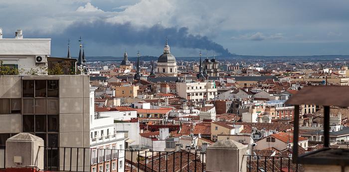 Madrid Blick vom Hotel Emperador: Centro Colegiata de San Isidro