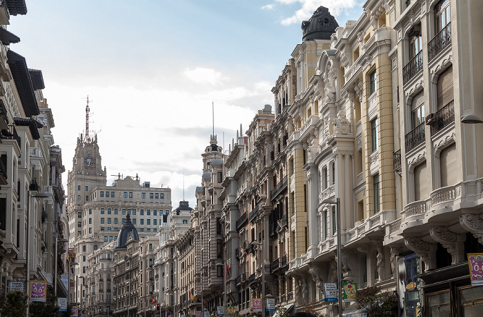 Gran Vía Madrid 2016