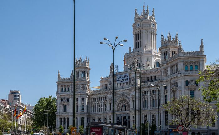 Plaza de Cibeles: Palacio de Comunicaciones Madrid 2016